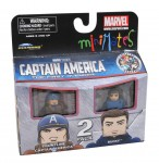 TRU Captain America Movie Minimates Frontline Captain America and Bucky
