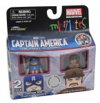 TRU Captain America Movie Minimates Golden Age Captain America and Dum Dum Dugan