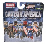 TRU Captain America Movie Minimates Package Back