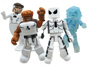SDCC 2011 Marvel Minimates Future Foundation AFX Exclusive Box Set Group