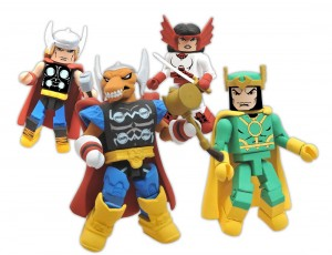 Marvel Minimates AFX Stormbreakers Box Set SDCC 2011 Exclusive Group