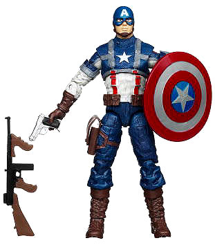 Captain America The First Avenger - 6-inch Captain America