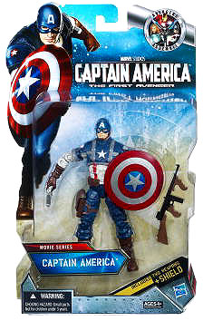 Captain America The First Avenger - 6-inch Captain America in package