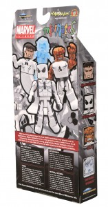 Marvel Minimates Future Foundation Box Set Exclusive - Back