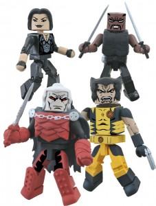 Marvel Minimates Curse of the Mutants Box Set