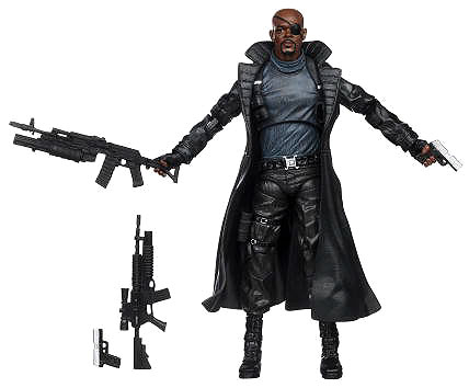 Captain America The First Avenger - 6-inch Nick Fury