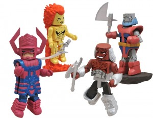 Minimates Heralds of Galactus Box Set
