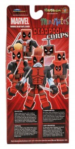 NYCC 2011 Deadpool Corps Box Set Exclusive Back
