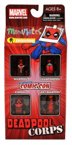 NYCC 2011 Deadpool Corps Box Set Exclusive Front
