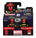 NYCC 2011 Spider-Man Firefighter 2 Pack Exclusive Front