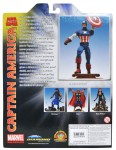 Disney Store Exclusive Marvel Select Captain America Back