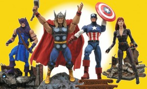 DST Marvel Select Disney Store Avengers Exclusives Giveaway