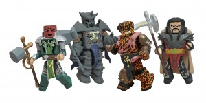 Marvel Minimates Fear Itself The Worthy Box Set