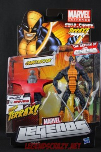 Return of Marvel Legends Wave One Constrictor Package Front