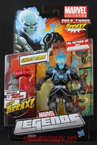 Return of Marvel Legends Wave One Ghost Rider Package Front