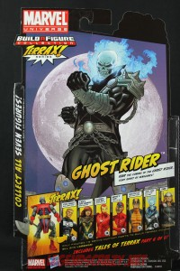Return of Marvel Legends Wave One Ghost Rider Package Back