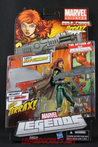 Return of Marvel Legends Wave One Hope Summers Package Front
