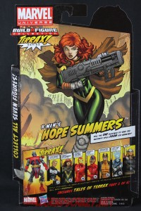 Return of Marvel Legends Wave One Hope Summers Package Back