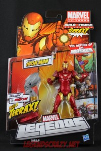 Return of Marvel Legends Wave One Extremis Iron Man Package Front