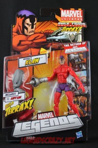 Return of Marvel Legends Wave One Klaw Package Front