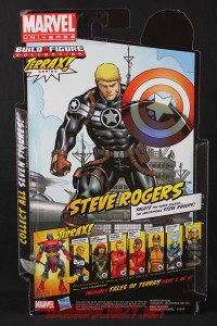 Return of Marvel Legends Wave One Steve Rogers Package Back