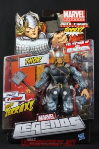 Return of Marvel Legends Wave One Thor Package Front
