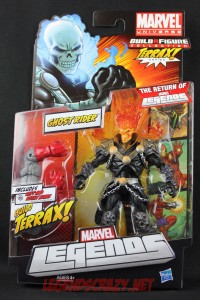 Return of Marvel Legends Wave One Ghost Rider Variant Package Front