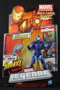 Return of Marvel Legends Wave One Extremis Iron Man Variant Package Front