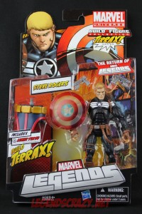 Return of Marvel Legends Wave One Steve Rogers Variant Package Front