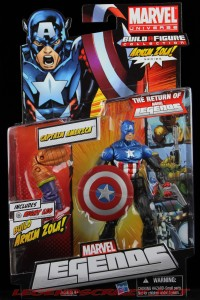 Return of Marvel Legends Wave 2 Heroic Age Captain America Package Front