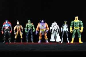 The Return of Marvel Legends Wave Two Arnim Zola Build-a-Figure Group Shot