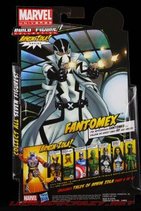 The Return of Marvel Legends Wave Two Fantomex Package Rear