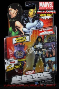 The Return of Marvel Legends Madame Masque Package Front