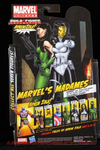The Return of Marvel Legends Wave Two Madame Hydra Package Rear