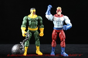 The Return of Marvel Legends Wave Two Piledriver and Thunderball
