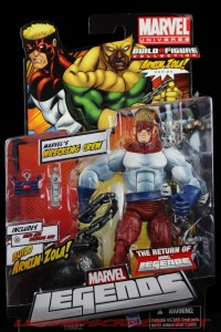 The Return of Marvel Legends Wave Two Piledriver Package Front