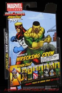 The Return of Marvel Legends Wave Two Piledriver Package Rear