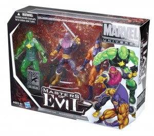 Hasbro Marvel Universe Masters of Evil Box Set SDCC 2012 Exclusive