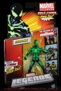 The Return of Marvel Legends Wave Two Big Time Spider-Man Package Front
